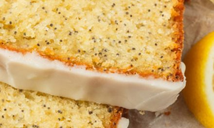 Νέο Lemon Poppyseed Cake από την FOODSTUFF